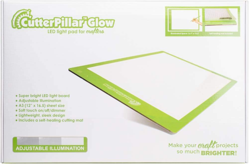 Cutterpillar Glow Basic LED Light Pad by Cutterpillar