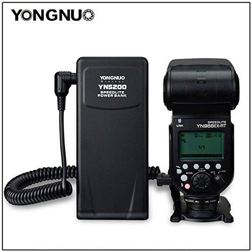 NAMVO Diffuseur YONGNUO YN5200 professionnel speedlite banque de puissance pour YONGNUO YN560 YN660 YN565 YN600EX-RT YN968EX-RT YN968N Canon 580EX