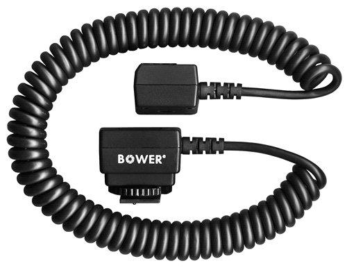 Bower Dedicated i-TTL Off-Camera Flash Shoe Cord for Nikon Digital SLR Cameras (4.5 Feet)