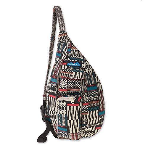 KAVU Women's Mini Rope Bag, Pattern Stack, No Size