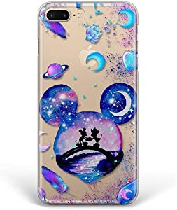 Kaidan iPhone 8 7 Plus 6 6s Mickey and Minnie Mouse X XR XS Max Case 5 5s SE Moon Samsung Galaxy S8 S9 S10 Plus Space Note 10 Lite Note 9 8 Romantic A70 A60 Google Pixel 3A XL LG G8s Thinq G7 G6 apP25