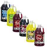Concession Express Slush & Slushy Mix 1/2 Gallon (Six Pack)