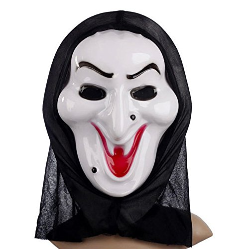 Aquarius CiCi Ghost Face Mask Scream Ghost Mask for Halloween,Party etc. - Mtv Scream Costumes For Kids