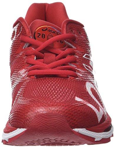 Asics Herren Gel-Nimbus 20 London Marathon Laufschuhe, Rot, 40 EU
