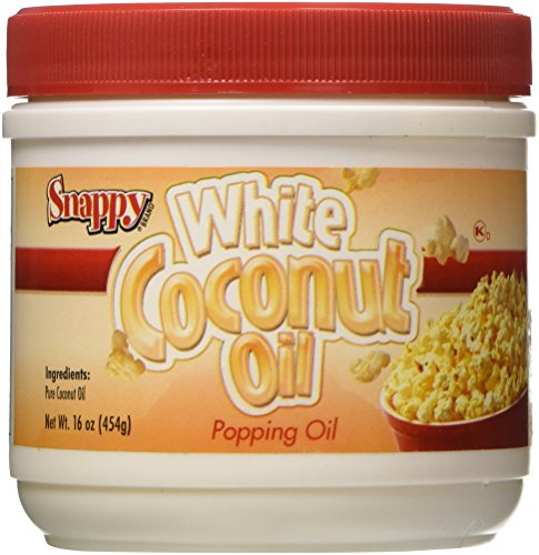 Jar Pure White Coconut Oil