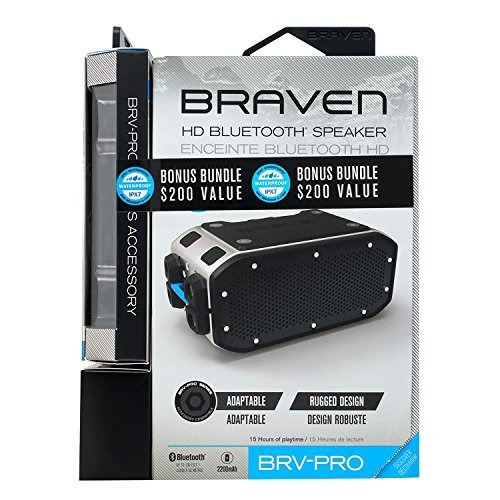 Braven BRV Pro Portable Bluetooth Speaker product image