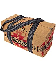 "El Paso Designs Southwest 18""x 10""x 10"" Lightweight Shoulder Tote Duffel Bag with Beautiful Geometric Patterns"