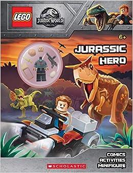 Jurassic Hero (Lego Jurassic World: Activity Book with Minifigure) [With Minifigure]