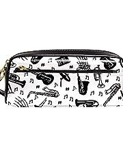 Multifunction Pen Bag,Musical Instrument Guitar Music Stave
