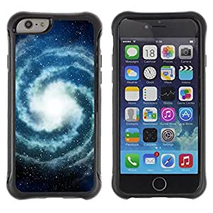"""Pulsar iFace Series Tpu silicona Carcasa Funda Case para Apple iPhone 6+ Plus(5.5 inches) , Milky Way Universo Estrellas Espacio"""""""
