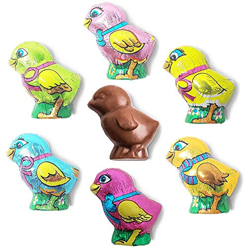Madelaine Solid Premium Milk Chocolate Easter Baby Chicks Wrapped In Colorful Italian Foils (1/2 LB) for $<!--$9.49-->