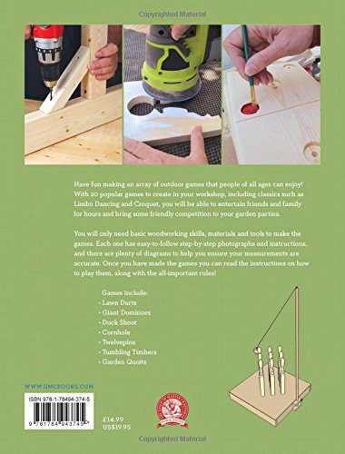 Outdoor Woodworking Games: 20 Fun Projects to Make: Amazon.es: Goodsell, Alan: Libros en idiomas extranjeros