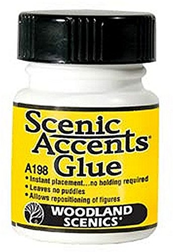 Woodland Scenics Accent Glue, 1.25 oz - Woodlands The Market Street