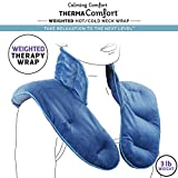 3. Calming Comfort ThermaComfort Weighted Hot Neck Shoulder Wrap- Deep Pressure Therapy, Herbal Aromatherapy, Comfort Fit Design- 3 lbs