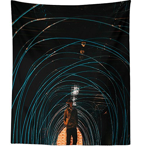 Westlake Art   Wall Hanging Tapestry   Lights Abstract   Photography Home  Decor Living Room   51x60in