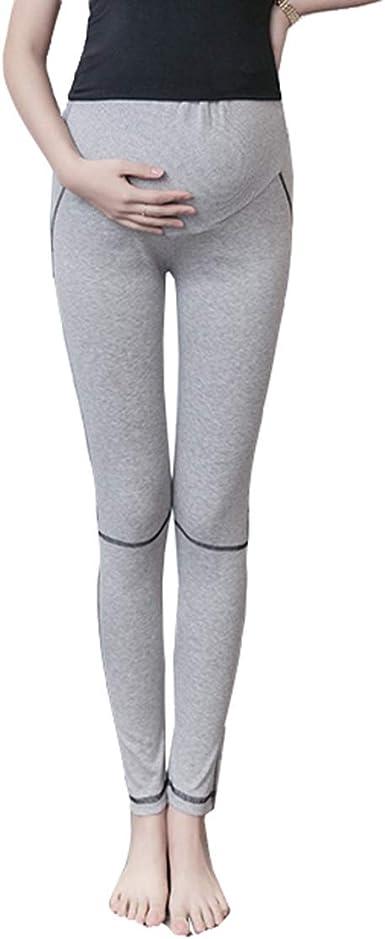 Pantalon Embarazada Deporte Leggins Premama Algodon Embarazo Pantalones Verano Skinny Elasticos Yoga Leggings Maternidad: Amazon.es: Ropa y accesorios