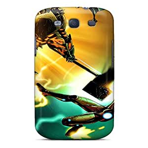 PyP17031kXPt Snap On Case Cover Skin For Galaxy S3(ironman)