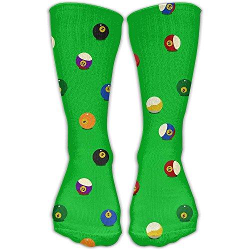 Goofy Giraffe - Jadetian Color Billiards Balls Unisex Athletic Breathable Socks Ankle Socks Casual Sport 30cm Socks