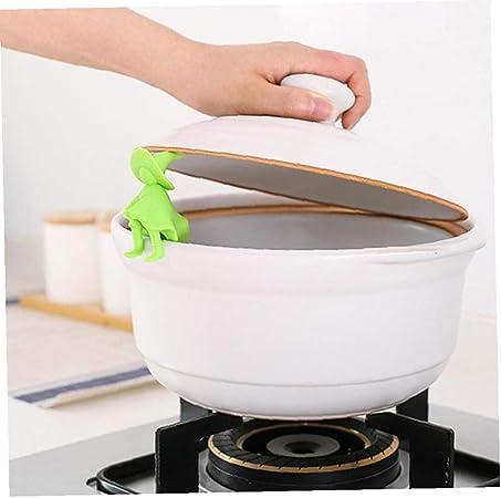 Cuisson Silicone Couvercle D/éversement Anti-d/ébordement Couvercle En Silicone Splash Outils de Cuisine /Écologique