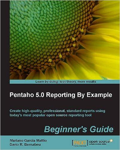 Pentaho 5.0 Reporting