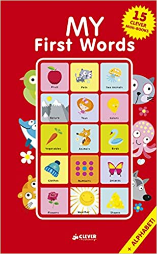 Amazon com: My First Words: 15 CLEVER Mini-Books Box Set