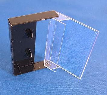 Estuches/Cajas para Cintas DE Cassette - Color Negro - Pack de 5 Cajas Nuevas - / Ref.1568