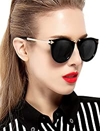 ATTCL® Vintage Fashion Round Arrow Style Wayfarer Polarized Sunglasses for Women