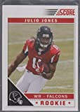 2011 Score Julio Jones Falcons Rookie Football Card #351