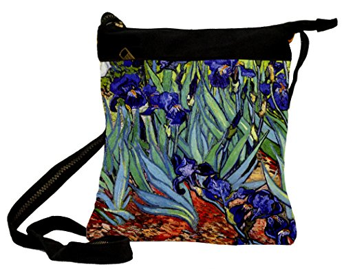 - Shoulder Bag Van Gogh - Sword Lilies 25 X 30 Cm Vivendi Artis
