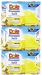 Dole Pineapple Juice 6 z. 6 ct. - 8 Pack (48 total)