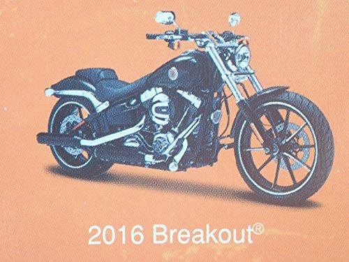 2016 BREAKOUT HARLEY DAVIDSON MOTORCYCLE BLACK MAISTO SERIES 35 RARE 1/18 MODEL