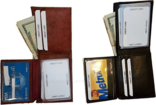 New lined wallet style 4 1 billfolds card credits 2 zip ID 2 suede man's leather 0IU0wdq