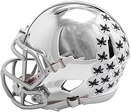 Ohio State Buckeyes NCAA Speed Chrome Alternate Replica Mini Helmet
