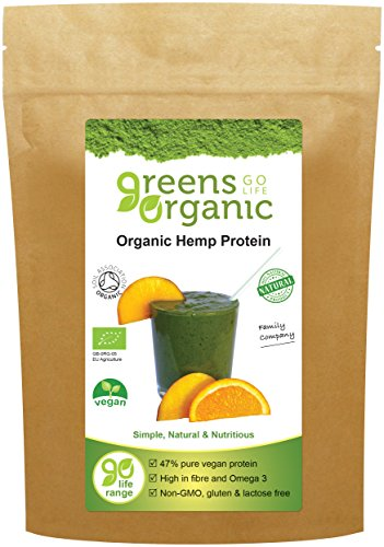 Greens Organic Organic Hemp Protein Powder 250 g by Greens Organic