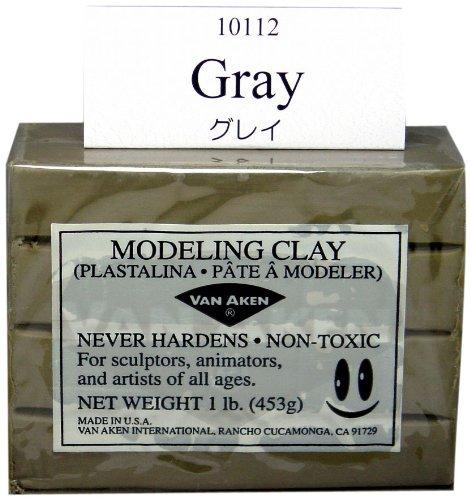 Van Aaken Modeling Clay 1Lb Gray