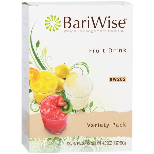 BariWise High Protein Diet Fruit Drink - Variety Pack (7 (Index Pack)