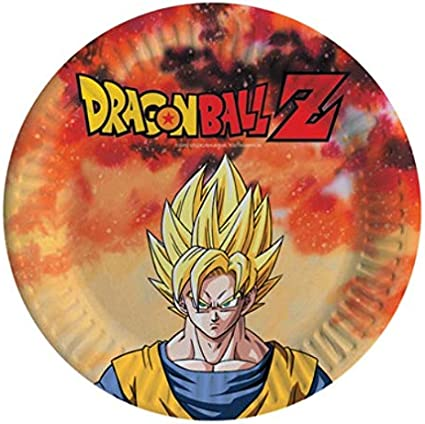 Party Store web by casa dolce casa Dragon Ball Z Goku - Juego de Mesa (64 Platos): Amazon.es: Juguetes y juegos
