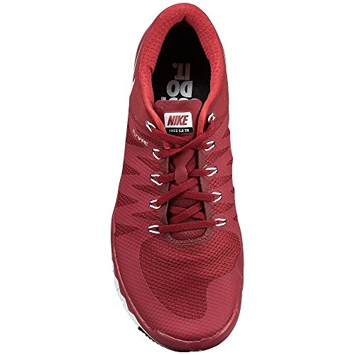 Nike Free Trainer 5.0 V6 Tb (723987-600) Menns Størrelse 7,5 Rødt