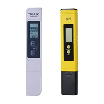 Amazon.com: Medidor de prueba de calidad de agua TDS PH EC ...