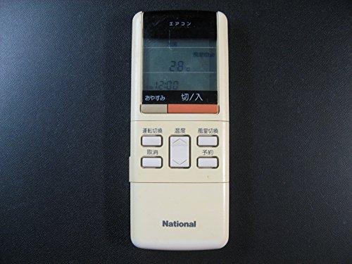 ナショナル エアコンリモコン A75C433