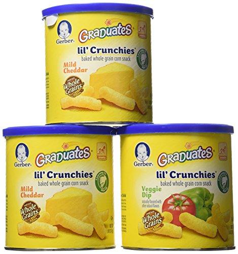 Gerber Graduates Lil Crunchies Variety