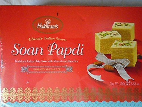 - Indian Rakhi - Om Rakhi with Haldiram Soan Papdi