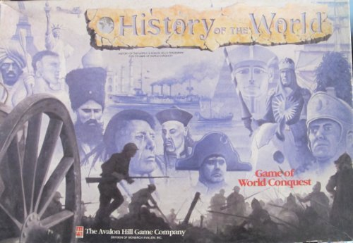 Avalon Hill History of the World Game of World Conquest [Toy] by avalon hill