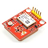 Image of Gowoops GPS Module U-blox NEO-6M with TTL Ceramic Passive Antenna for Arduino Raspberry Pi 2 3 B+ MCU