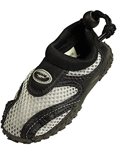 The Wave - Childrens Aqua Shoe,6 M US Toddler,Grey by The Wave (Image #2)