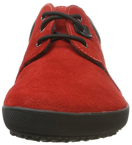 de Zapatos Kari Derby Unisex Adulto Cordones Rot Red Sole Runner qtpwxARZT