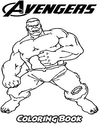 Avengers Coloring Book Coloring Book For Kids And Adults