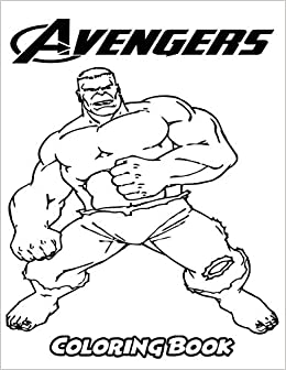 Amazon.com: Avengers Coloring Book: Coloring Book for Kids ...