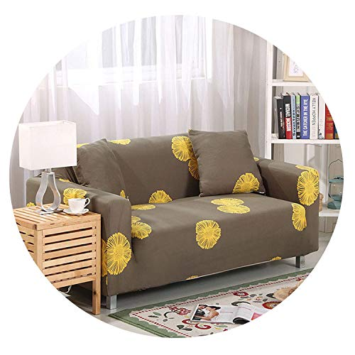 Forever Long Elastic Corner Sofa Covers Stretch Non-Slip Polyester Sectional Slipcover All-Inclusive Sofa Cushion Sofa Towel 1/2/3/4-seater,Color 19,2 Seater 145-185CM (Beyond And Bed Bath Kelowna)