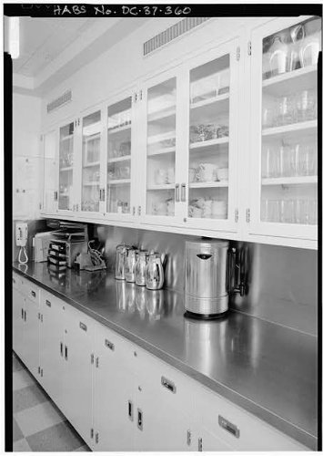 Photo: Private Dining Room,White House,1600 Pennsylvania Avenue,Washington,DC,HABS,13